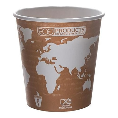 Eco-Products 10 Oz. World Art™ Hot Cups Convenience Pack, 50/Pack (EP-BHC10-WAPK)