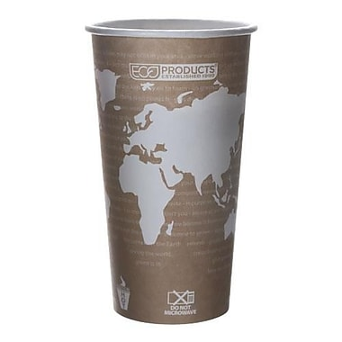 Eco-Products 20 Oz. World Art™ Hot Cups Convenience Pack, 50/Pack (EP-BHC20-WAPK)