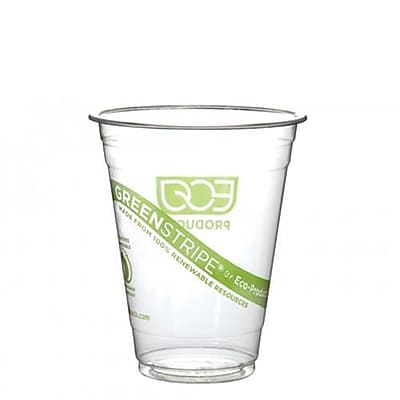 Eco-Products 16 Oz. GreenStripe Cold Cups Convenience