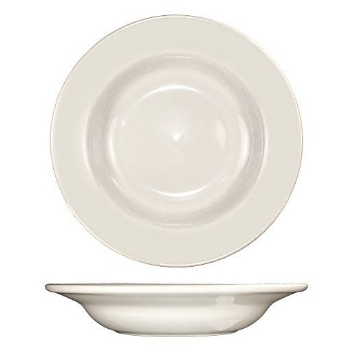 International Tableware 12 Oz Roma™ Deep Rim Soup Bowl With Rolled Edge, 24/Pack (RO-3)