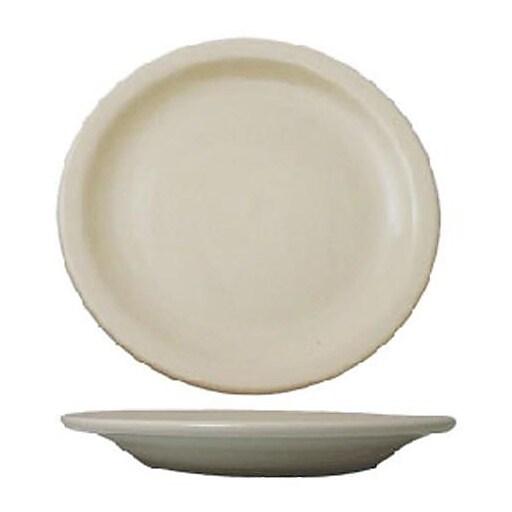 "International Tableware 9"" Valencia™ Plate With Narrow Rim, 24/Pack (VA-8)"