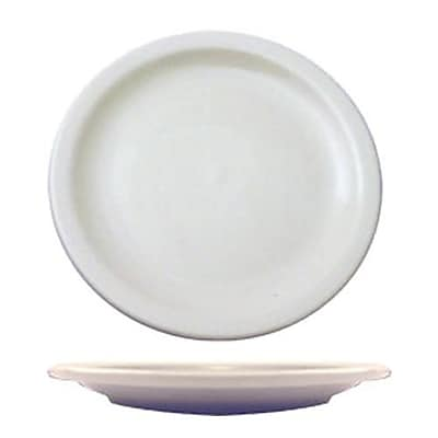 "International Tableware 6 1/2"""" Brighton Porcelain Plate, 36/Pack (BR-6)"