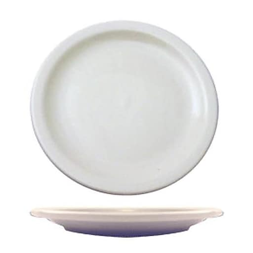 "International Tableware 7 1/4"" Brighton™ Porcelain Plate, 36/Pack (BR-7)"