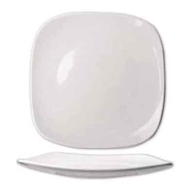 "International Tableware 6"""" Quad Square Fine Porcelain Plate, 36/Pack (QP-6)"