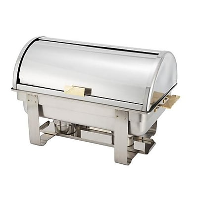 Winco 8 Quart Dallas Roll Top Chafer (C-5080)