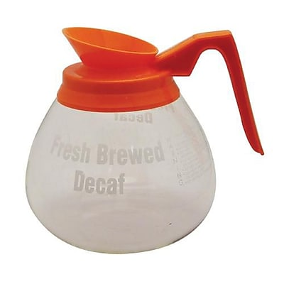 Grindmaster 64 Oz Orange Decanter (98006)