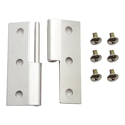 Carlisle Cateraide™ Chrome Hinge Assembly, 1/Pack (IC2250HA38)