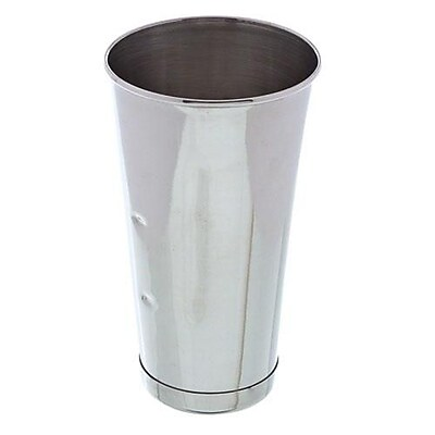 Update International 30 Oz. Malt Cup, Stainless Steel (MC-30)