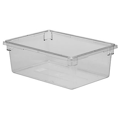 """""Cambro Camwear Food Box, 26 """""""" L x 18"""""""" W x 12"""""""" H, Clear, 4/Pack (182612CW135)"""""" 2479804"