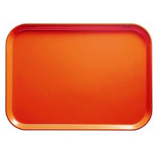 """Cambro Orange Pizazz Camtray, 18"""" L X 14"""" W, Orange, (1418222)"""