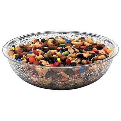 """""Cambro Camwear 8"""""""" Clear Pebbled Bowl (PSB8176)"""""" 2475409"
