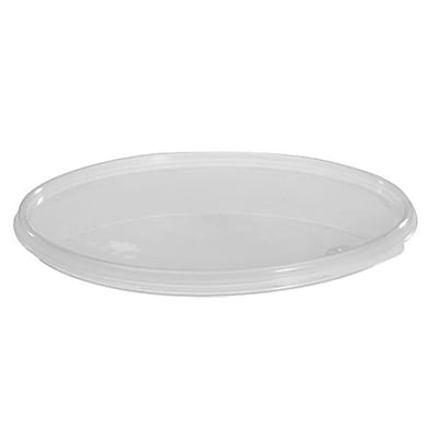 Cambro 12, 18 and 22 Qt. Camwear® Round Seal Cover, Translucent, 6/Pack (RFS12SCPP190)