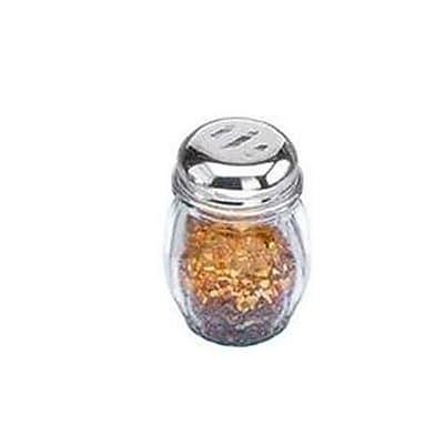 American Metalcraft 6 Oz Glass Spice Shaker w/Top (3307)