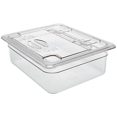 Cambro 1/2 Size Camwear® Notched Flip Cover, 12 3/4