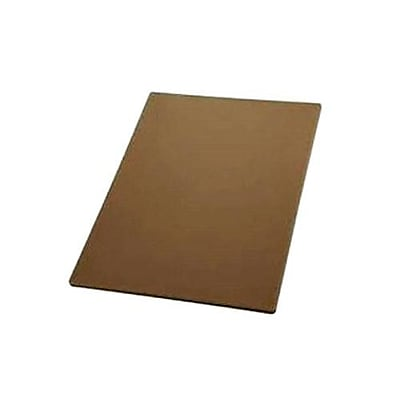 "Winco 18"" x 24"" Brown Cutting Board (CBBN-1824)"