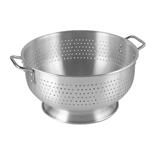 "Update International 15"" Aluminum Colander (ACO-11)"