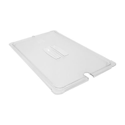 Carlisle Notched Full Size StorPlus™ Food Pan Cover, 20 3/4