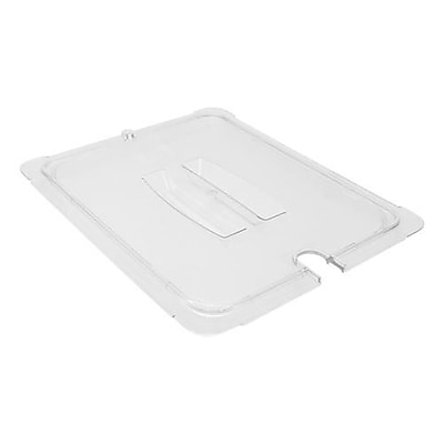 Carlisle Notched 1/2 Size StorPlus™ Food Pan Cover, 12 3/4