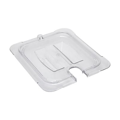 Carlisle 1/6 Size Notched StorPlus™ Food Pan Cover, 6 3/4