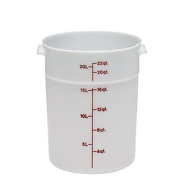 Cambro 22 Qt. Food Storage Container, 14 7/8