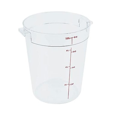 Cambro 8 Qt. Camwear® Food Storage Container, 9 15/16
