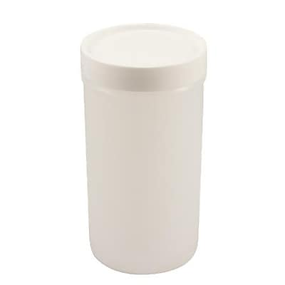 Carlisle Store N' Pour® Backup Container, White, 1 Qt. (PS602N02)