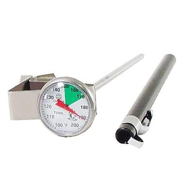 Comark 200 F Beverage Thermometer, Silver, 5