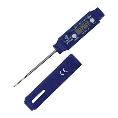 """""""""""Comark 300 F Digital Thermometer, Blue, 8"""""""""""""""" H X 4"""""""""""""""" L X 1"""""""""""""""" W"""""""""""" 2475664"""