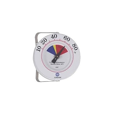 Comark 80 F Cooler Thermometer, White