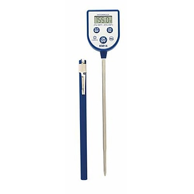 Comark 400 F Dishwasher Thermometer, Blue, 9.5