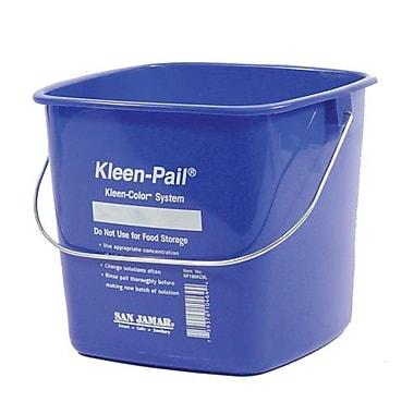 San Jamar 6 Qt. Kleen-Pail® Blue Bucket (KP196KCBL)