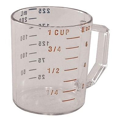 Cambro Camwear 1 Cup Measuring Cup, Polycarbonate (25MCCW135)
