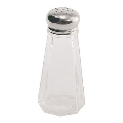 Crestware 3 Oz Paneled Glass Salt & Pepper Shaker (SHKR43M)