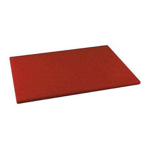 "Winco 15"" x 20"" x 1/2"" Red Cutting Board (CBRD-1520)"