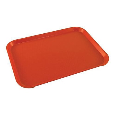 Cambro Red Fast Food Tray, 12
