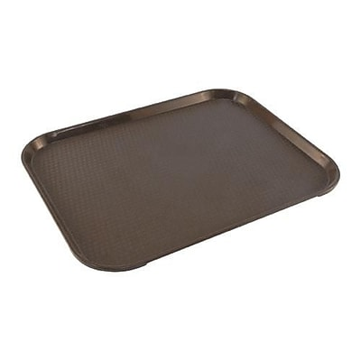 Carlisle Cafe® Brown Food Tray, 18