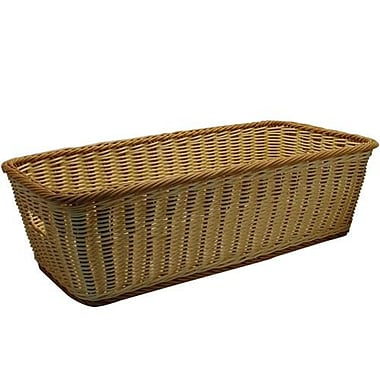 GET Enterprises Rectangular Designer Polyweave Basket™ (WB-1519-TT)