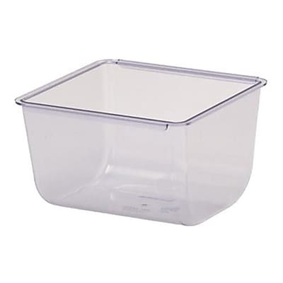 San Jamar The Dome® Garnish Center Insert, 1 Qt. (BD106)