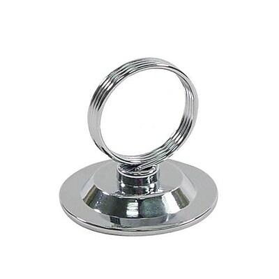Update International Chrome Plated Table Number Holder (MH-RCHB) 2476194