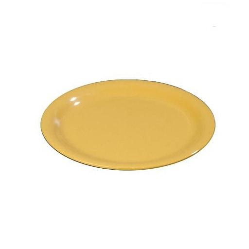 """Carlisle 6 1/2"""" Sierrus™ Yellow Pie Plate, 48/Pack (3300822)"""
