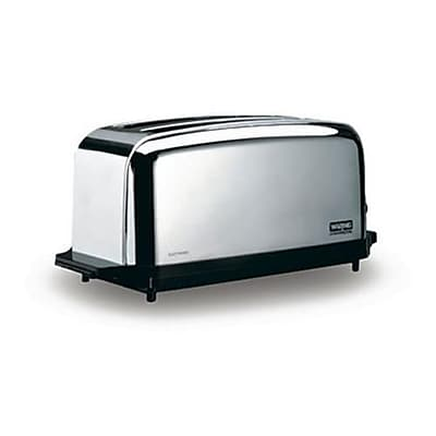 Waring 2 Slot Light Duty Pop-Up Toaster, Silver, 13 1/2