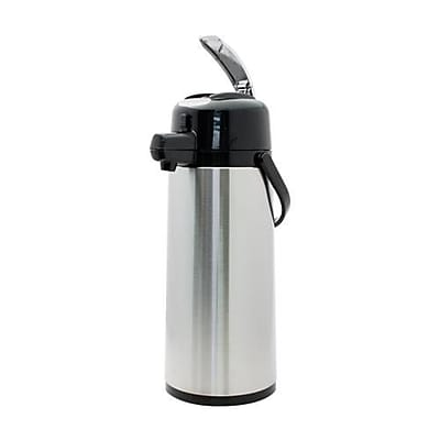 Service Ideas Eco-Air 2.4 L Stainless Steel Lined Airpot (ECALS22SS)