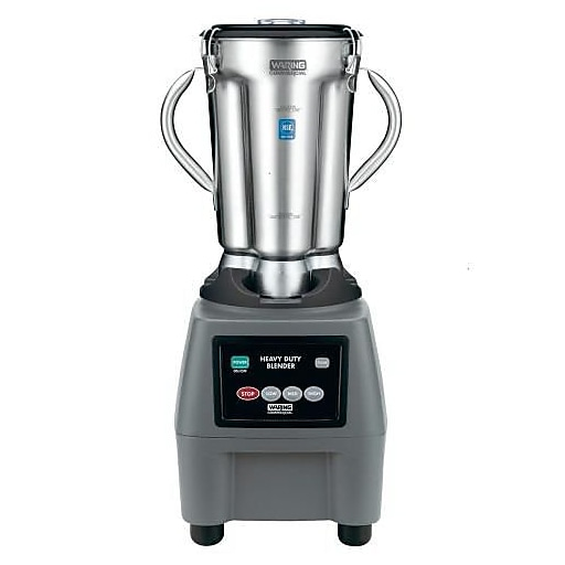 "Waring 1 Gallon Food Blender w/ Electronic Keypad, Grey, 14 7/8"" L x 15"" W x 26"" H"