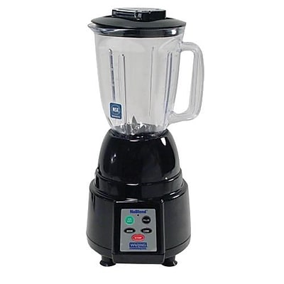 Waring 44 Oz. NuBlend® Blender with Electronic Keypad, Black, 13 3/5