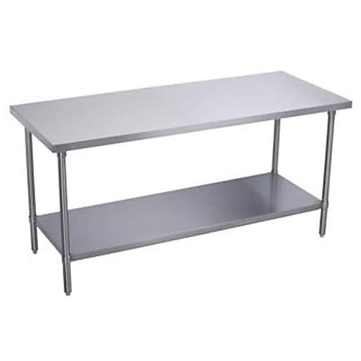 Elkay Heavy Duty Work Table X Stainless Steel WTS - 30 x 60 stainless steel work table