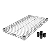 "Focus Foodservice Chrome Plated Wire Shelf, 14"" x 24"" (FF1424C)"