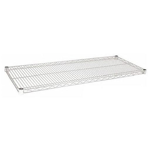 "Focus Foodservice Chrome Plated Wire Shelf, 14"" x 72"" (FF1472C)"