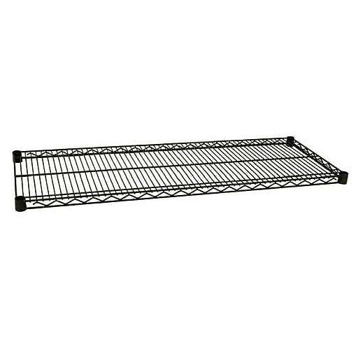"Focus Foodservice Green Epoxy Coated Wire Shelf, 18"" x 42"" (FF1842G)"