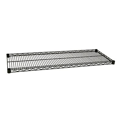 Focus Foodservice Green Epoxy Coated Wire Shelf, 18