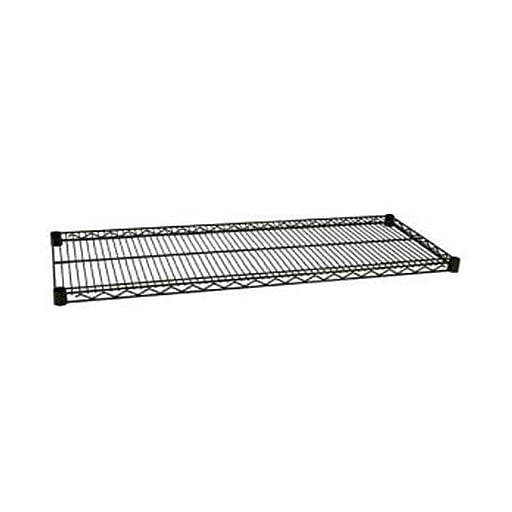 "Focus Foodservice Green Epoxy Coated Wire Shelf, 18"" x 72"" (FF1872G)"